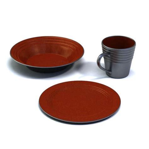 plate bowl mug brown plate bowl and mug 3d model cgtrader