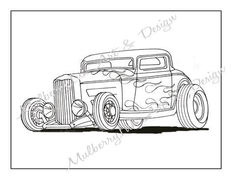 coloring pages hot rod cars coloring page classic car coloring page hot rod coloring page