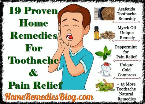 19 proven home remedies for toothache fast relief