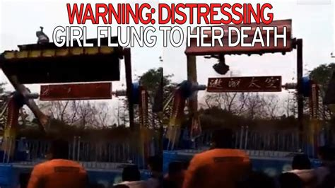 theme park accidents 2017 dodgy seatbelt blamed after girl 13 dies as she s thrown