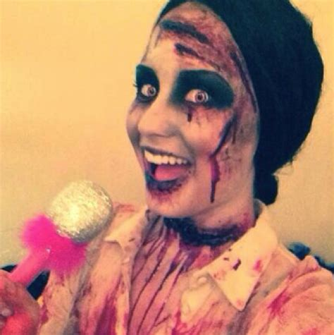 demi lovato mp this is me demi lovato as a singing zombie celebrity halloween