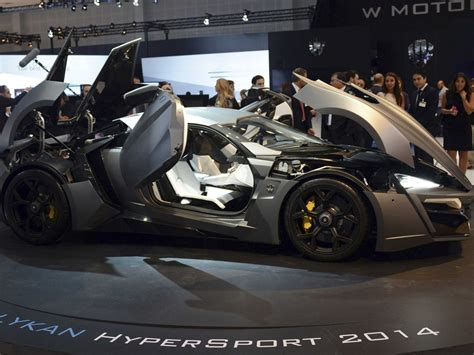 lykan hypersport doors this hypercar from fast and furious 7 flies between