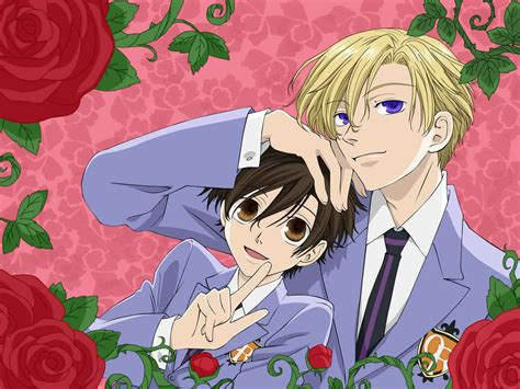 ouran highschool host club ouran high school host club images tamaki and haruhi