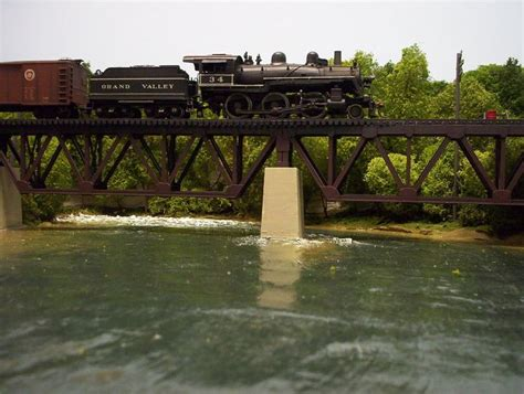 train layout water features alternative to realistic water model railroader magazine
