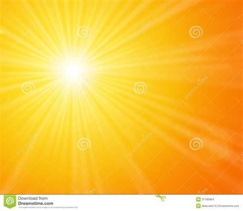 warm orange sunshine stock images image 31185864