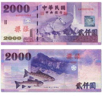 currency of taiwan, province of china list of currency names