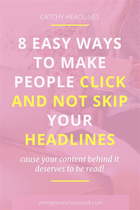 8 Easy Ways To Bring Laughter To Your by 8 Easy Ways To Make Click And Not Skip Your Headlines