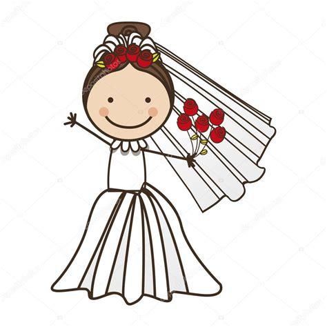 braut comic bride cartoon icon image stock vector 169 grgroupstock