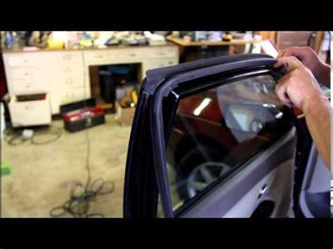 replacing toyota sedan door seals youtube