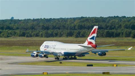 houston tx 2015 klm boeing 747 taking from houston tx george bush intercontinental
