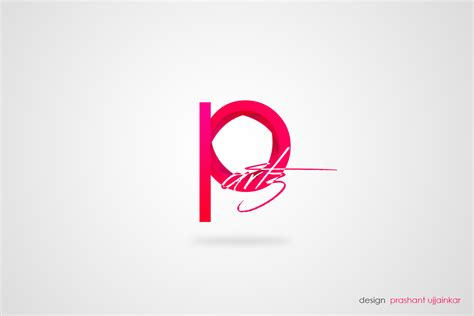 logo design via photoshop photoshop graphics designing my p artz logo design