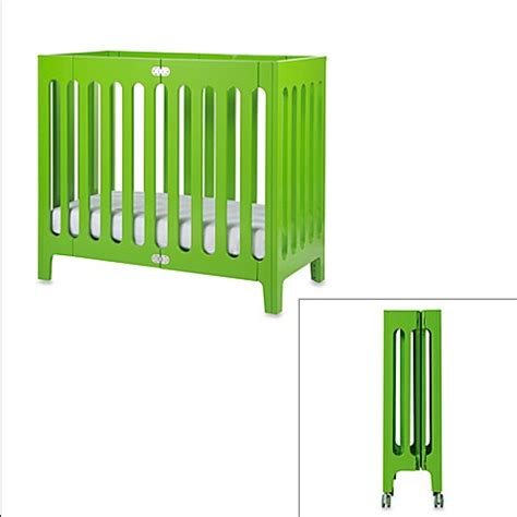 Bloom Mini Crib Buy Bloom 174 Baby Alma Folding Cot Mini Crib In Gala Green From Bed Bath Beyond