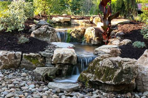 Aquascape Water Features by Disappearing Pondless Waterfalls State College Altoona Pa