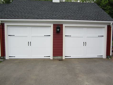 Composite Wood Garage Doors Wood Composite Garage Doors Modern Garage And Shed Boston By Mortland Overhead Door