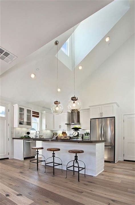 Lights For Sloping Ceilings Best 25 High Ceiling Lighting Ideas On Pinterest High Ceilings Vaulted Ceiling Lighting And