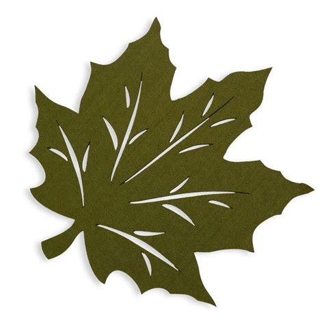 Leaf Pattern Placemats | felt leaf placemat collection