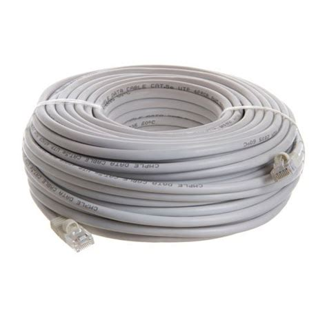100 Ft Cable - 100ft white cat5e ethernet cable for linksys d link router