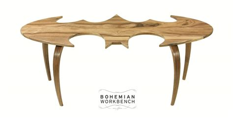 batman coffee table the awesomer