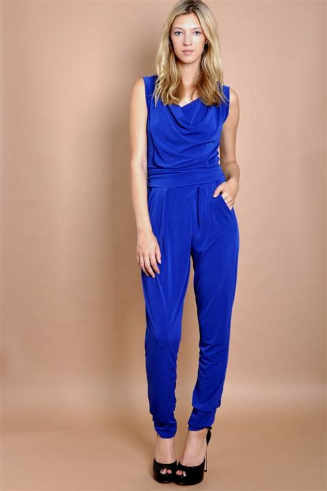 Jumpsuit Blue blue jumpsuit dressed up