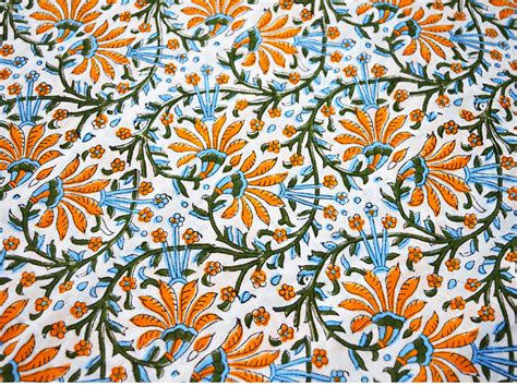 printable cotton fabric block print cotton fabric hand printed fabric