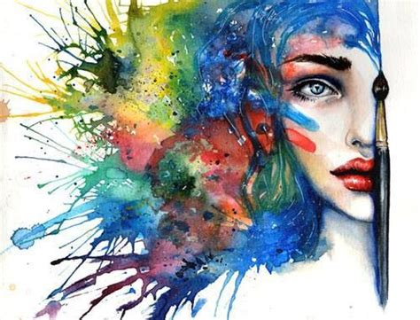 watercolor woman tutorial watercolor art of a woman s face watercolor art