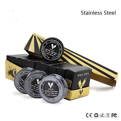 Vaportech Stainless Steell Ss316l Wire 1 Meteran Stainless Steel 316l Resistance Wire From Vapor Tech