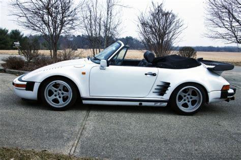 white porsche convertible 1984 porsche 911 cabriolet convertible white 2