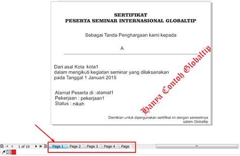layout sertifikat coreldraw cara membuat numerator nota sertifikat undangan otomatis