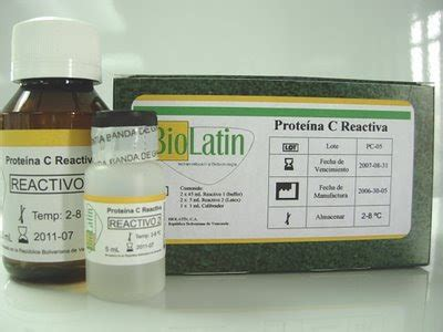 c proteina reactiva laboratorio clinico julio 2009