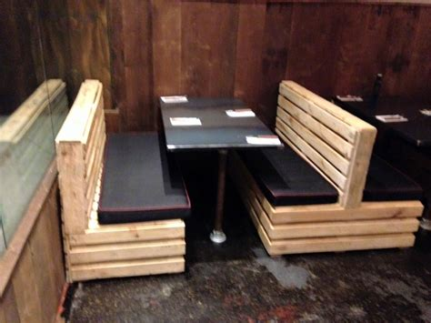 couch restaurants pallet seating set for restaurant pallet furniture plans