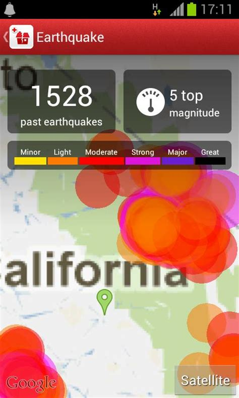 earthquake app earthquake american red cross android apps on google play