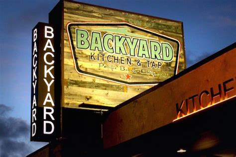 backyard kitchen tap happy hour pacific king