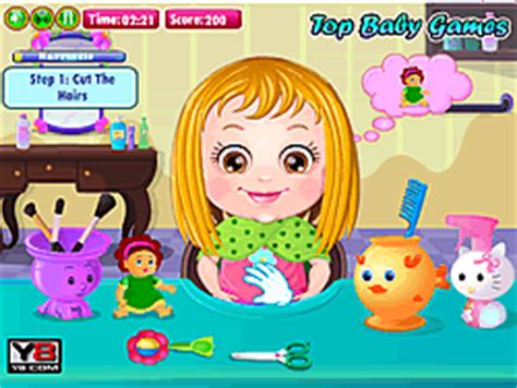 baby hairstyles games play baby hazel hair care game online y8 com