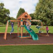 backyard discovery springboro wood swing set toys