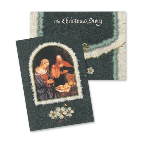 the christmas story cards creative graphics floral gifts