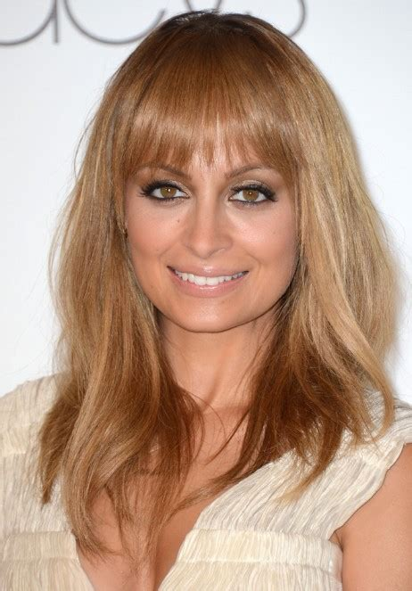 hairstyles for long fine hair nicole richie long straight hairstyle for fine hair