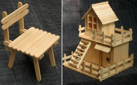 Creative Things With Popsicle Sticks   Home Design, Garden & Architecture Blog Magazine