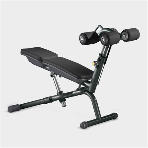 abdominal crunch bench element workout bench technogym