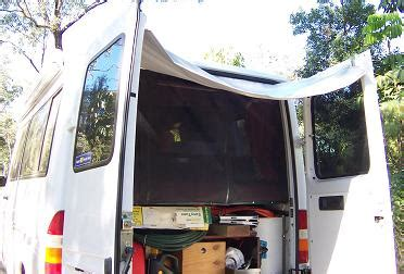 van rear door awning awning for rear opening of motorhome