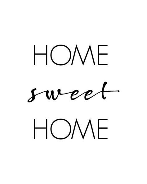 printable home quotes home sweet home printable wall art home quote home