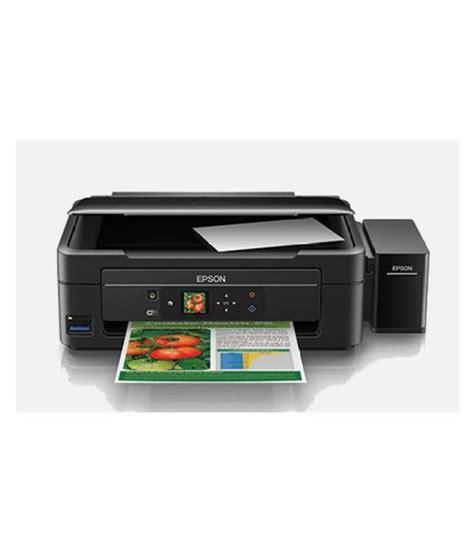 Printer Epson Wifi epson l455 wireless inkjet printer buy epson l455 wireless inkjet printer at low price