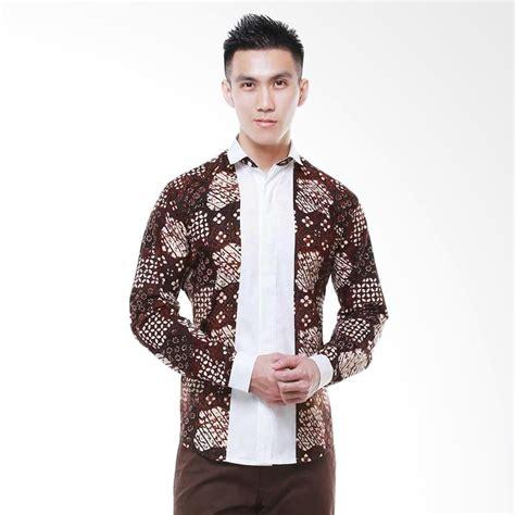 Kemeja Batik Pria Slim Fit Lengan Panjang Cutton Halus Slimfit Acs 02 jual balin viprakarsa slim fit lengan panjang batik pria