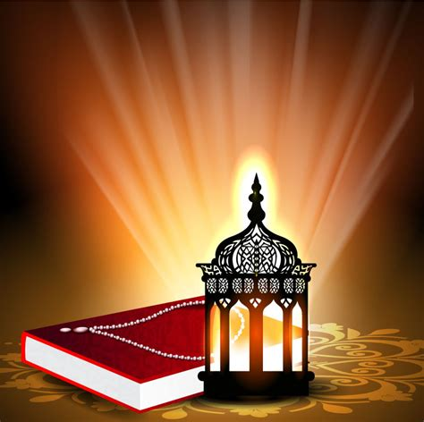 quran themes free download quran beautifully with light background vector material