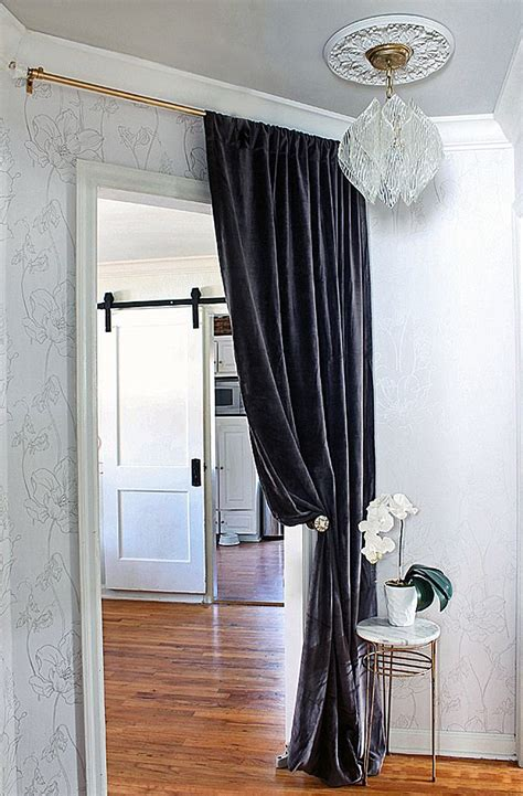 dark grey velvet curtains 12 marvelous ways to use velvet in your home