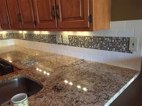 older and wisor painting a tile backsplash and more easy mason jar mosaic backsplash reality affordable diy