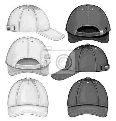 6 panel hat template fotomural ilustraci 243 n vectorial de la gorra de b 233 isbol
