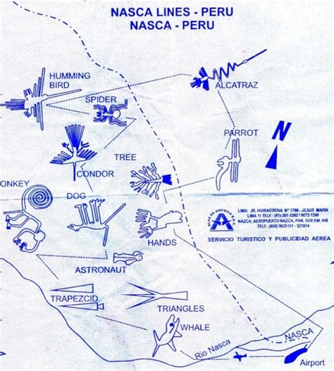 lines map lines of nazca peru an eclectic eccentric