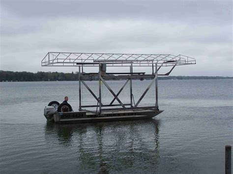 boat lift transport deano dock and lift pier and boat hoist transportation