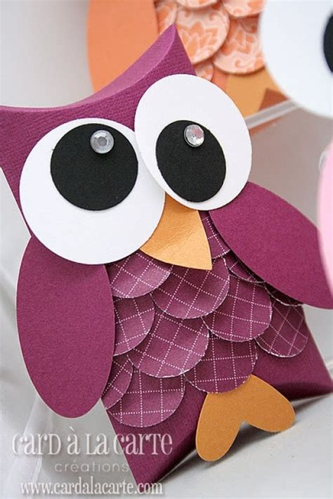 How To Make Paper Owls - diy birds craft 24 easy paper owl craft ideas for