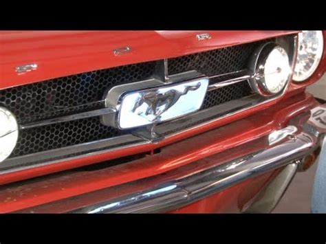 1966 mustang grille corral led light kit lamustang ford mustang parts mustang grille corral led light kit 1965 1966 installation